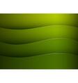 background green stripe wave vector image vector image
