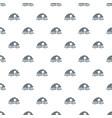 cloud data pattern seamless vector image