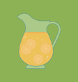 Decanter Carafe Icon vector image vector image