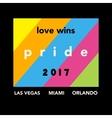 Gay Pride 2017 poster vector image vector image