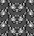 monochrome cat faces vector image vector image