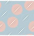 striped bubbles print vector image