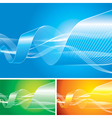 Abstract Flowing Background vector image vector image