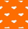 business handshake pattern seamless vector image vector image