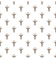 businessman with raised arms pattern vector image vector image