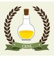 Natural olive oil vector image