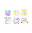positive inspirational and motivational quotes vector image vector image