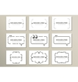 Set symbol speech bubble and quotes vector image vector image