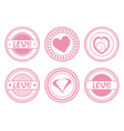 stamps vector image vector image