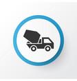 concrete mixer icon symbol premium quality vector image vector image