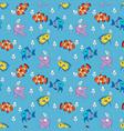 fishpattern vector image vector image
