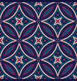 intricate mandala pattern tile background vector image vector image