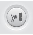 Door Delivery Icon vector image vector image