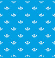 quality cognac pattern seamless blue vector image vector image