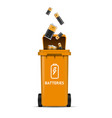 recycling concept with realistic detailed 3d vector image