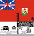 Bermuda Islands vector image