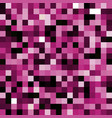 abstract pink pixel background vector image vector image