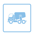 Icon of Concrete mixer truck vector image vector image