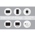 Internet of Things Control Devices Flat icons
