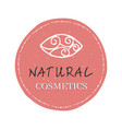 Natural cosmetics logo