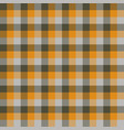 tartan seamless pattern background autumn color vector image vector image