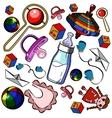 Baby Shower Elements vector image