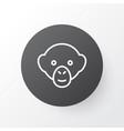 monkey icon symbol premium quality isolated vector image