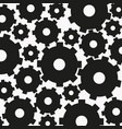 background from gear black vector image