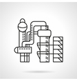 Distillery icon thin line style vector image vector image
