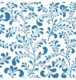 floral leaf branch seamless pattern abstract vector image vector image