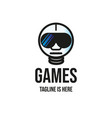 games recreational logo vector image vector image