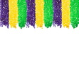 Mardi Gras dot background vector image vector image