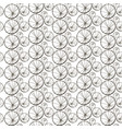 seamless pattern with dandelions stylized vector image vector image