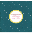 Shabby Chic background with pattern vector image vector image