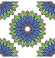 mandala floral color flower oriental vector image