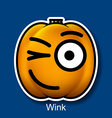 Wink vector image