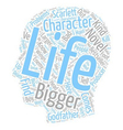 Create The Bigger than life Character For Your vector image vector image