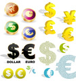 currency vector image vector image
