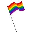 LGBT Rainbow Flag vector image