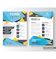 Multipurpose corporate business flyer layout vector image vector image