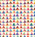 seamless of pastel triangle background vector image vector image