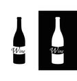ymbol of wine vector image