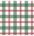tartan fabric seamless pattern vector image