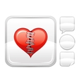 Happy Valentines day romance love heart Patch