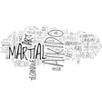 aikido arts martial text word cloud concept vector image vector image