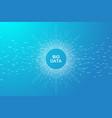 big data visualization artificial intelligence vector image vector image
