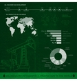Detail infographics vector image
