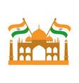 happy independence day india famous taj mahal