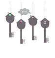 keys symbols vector image