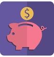 Money box vector image vector image